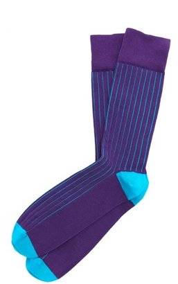 Corgi James Vertical Rib Stripe Socks