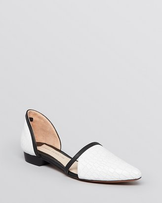 Derek Lam 10 Crosby Pointed Toe Flats - Action Too
