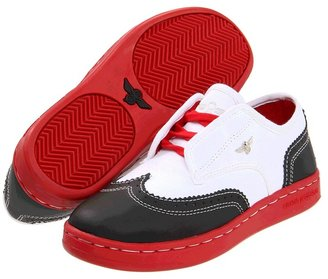 Creative Recreation Defeo (Toddler/Youth) (White/Black) - Footwear