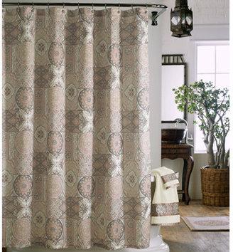 "Bed Bath & Beyond J. Queen Casablanca 72"" x 72"" Fabric Shower Curtain"