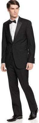 Kenneth Cole New York Suit Black Tuxedo Slim-Fit