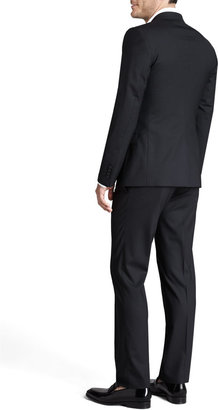 Dolce & Gabbana Martini Stretch-Wool Suit, Black