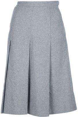 Yves Saint Laurent Vintage Pleated skirt