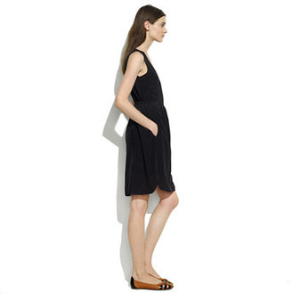 Madewell Tailored Silk Dress