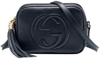 Gucci Soho Leather Disco Bag, Blue