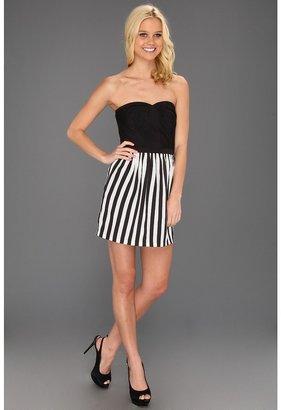 Type Z Kiara Strapless Stripe Dress Women's Dress