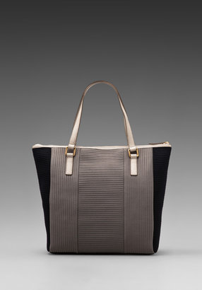 Marc by Marc Jacobs Take Me Quilted Neoprene Tech Me Tote in Gravel Grey