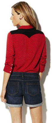 Vince Camuto Two by Printed Western Shirt