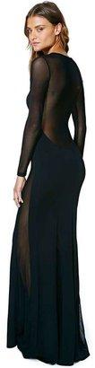 Nasty Gal Function Mesh Maxi Dress