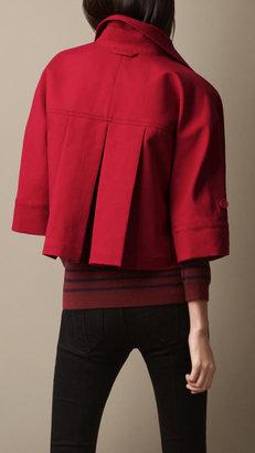 Burberry Sculptural Cotton Jacket