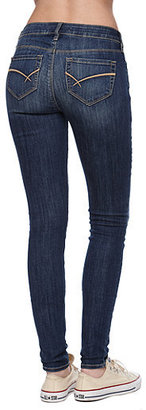 Bullhead Black Pacific Medium Mid Rise Skinniest Jeans