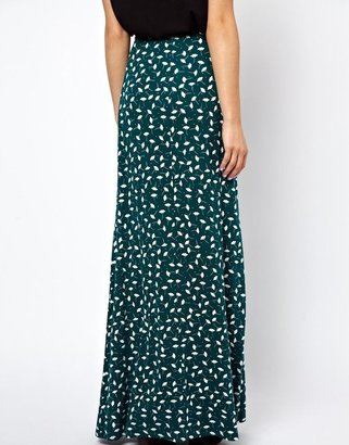 Asos Maxi Skirt in New Floral Print