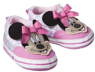 Disney® Infant Girls' Minnie Plaid Sneaker - Pink