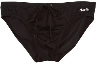 Singer22 Charlie by Matthew Zink Lifeguard Brief in Black