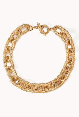 Forever 21 Elegant Chain-Link Necklace