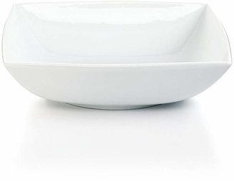 The Cellar Whiteware Square Coupe Serve Pasta Bowl