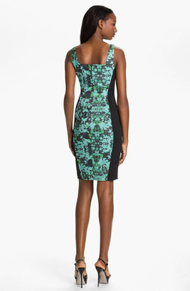Jay Godfrey 'Betsey' Print Sheath Dress