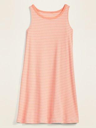 Old Navy Sleeveless Rib-Knit Swing Dress for Girls