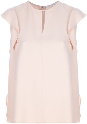 Chloé frill detailed blouse