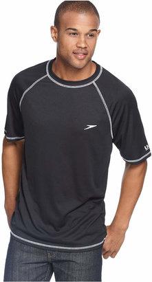 Speedo Swimwear, Performance UV Protection Swim Rashguard $34 thestylecure.com