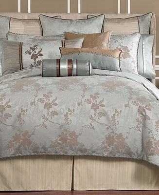"""Waterford CLOSEOUT! Bedding, Dianthus 15"""" x 30"""" Decorative Pillow"""