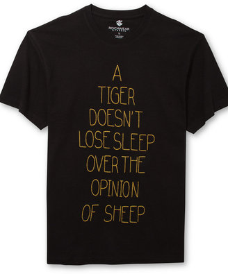 Rocawear Short Sleeve Tiger Style T-Shirt