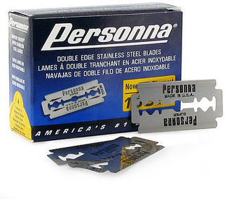 Personna Double Edge Blades 100 Count