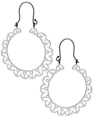 Kris Nations Sol Hoop Earrings