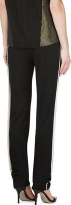 Lanvin Black Piped Lounge Pants