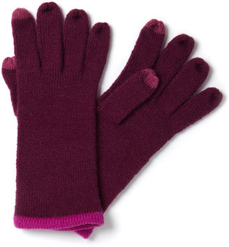 Burgundy Itip Screen Glove