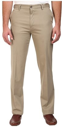Dockers Big Tall Signature Khaki D3 Classic Fit Flat Front (Timber Wolf Stretch) Men's Casual Pants