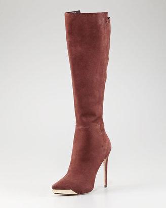 Rachel Roy Metal-Detailed Tall Boot