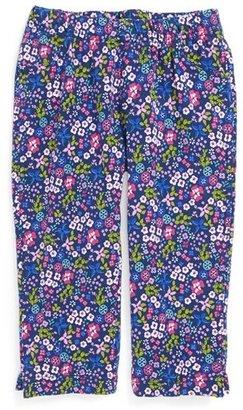 Tea Collection 'Garden Print' Capri Leggings (Toddler Girls, Little Girls & Big Girls)