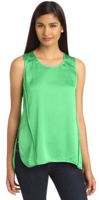 Vince Camuto Women's Seamed Rumpled Tank