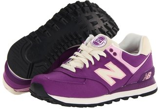 New Balance Classics - WL574 - Rugby (Purple Cactus Flower/Pink/Ivory) - Footwear