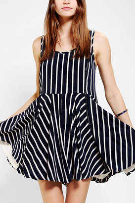 Sparkle & Fade Stripe Drop-Waist Dress