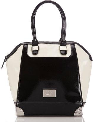 Wallis Black And White Juno Tote Bag