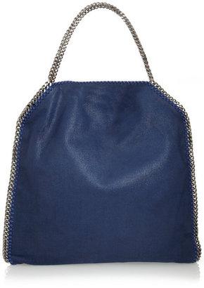 Stella McCartney The Falabella faux brushed-leather shoulder bag