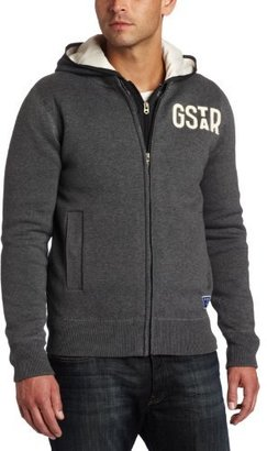 G Star G-Star Men's Armstrong Knit Long Sleeve Hooded Sweater