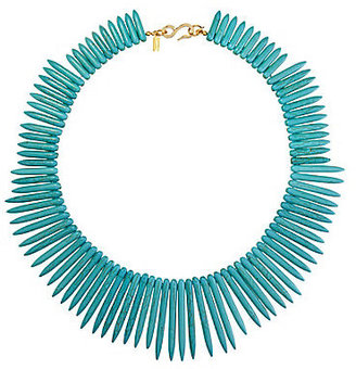 Kenneth Jay Lane Turquoise Statement Necklace
