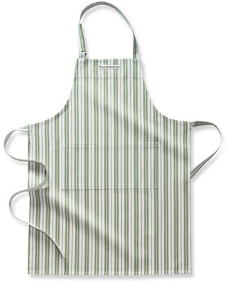 Williams-Sonoma Stripe Apron, Green