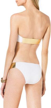Michael Kors Bandeau Bikini with Hardware