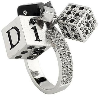 Christian Dior Romantic Game Dice Ring