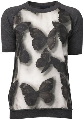 Lanvin 'Butterfly' top