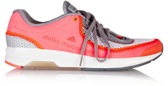 adidas by Stella McCartney Catuaba Runner neon mesh and neoprene sneaker