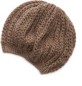 Charlotte Russe Raised Knit Beret