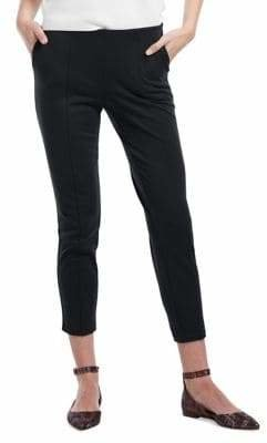 Hue Seamed Luxe Ponte Skimmer Leggings