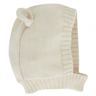 Oeuf Cream Polar Bear Beanie Hat