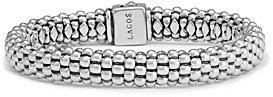 Lagos Sterling Silver Caviar Oval Rope Bracelet