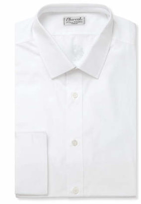 Charvet White Slim-Fit Cotton Shirt